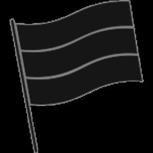 Dutch flag black